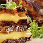 Broodje gesmolten kaas